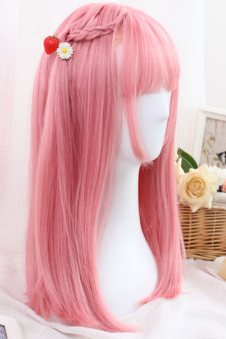 Cosplay Pink Kawaii Straight Wig