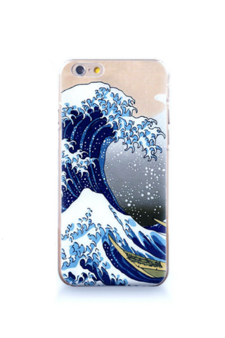 Hokusai's The Great Wave Iphone Case