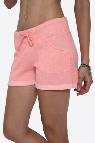 Drawstring Shorts In Pink