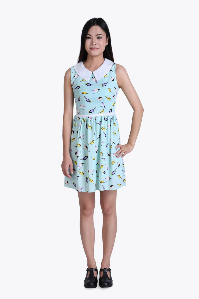 Little Cute Birds Dress