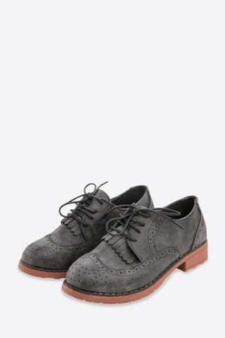 Retro Oxford Tassels Shoes