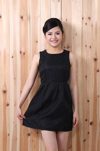 Cute Embroidered Party Dress