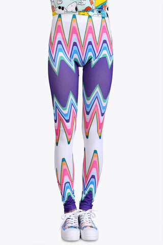 African Wave Leggings