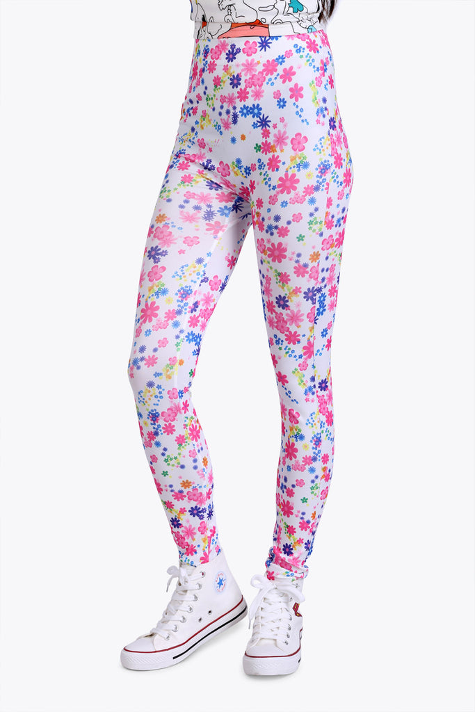 Vintage Flower Leggings