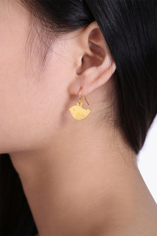 Cip Cip Golden Earrings