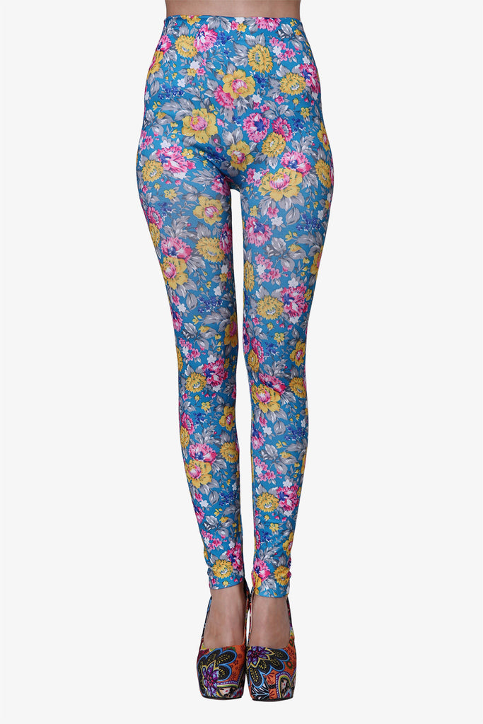 Chrysanthemun Leggings