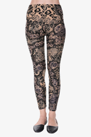 Evil Floral Leggings