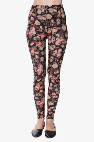 Retro Ditsy Floral Leggings