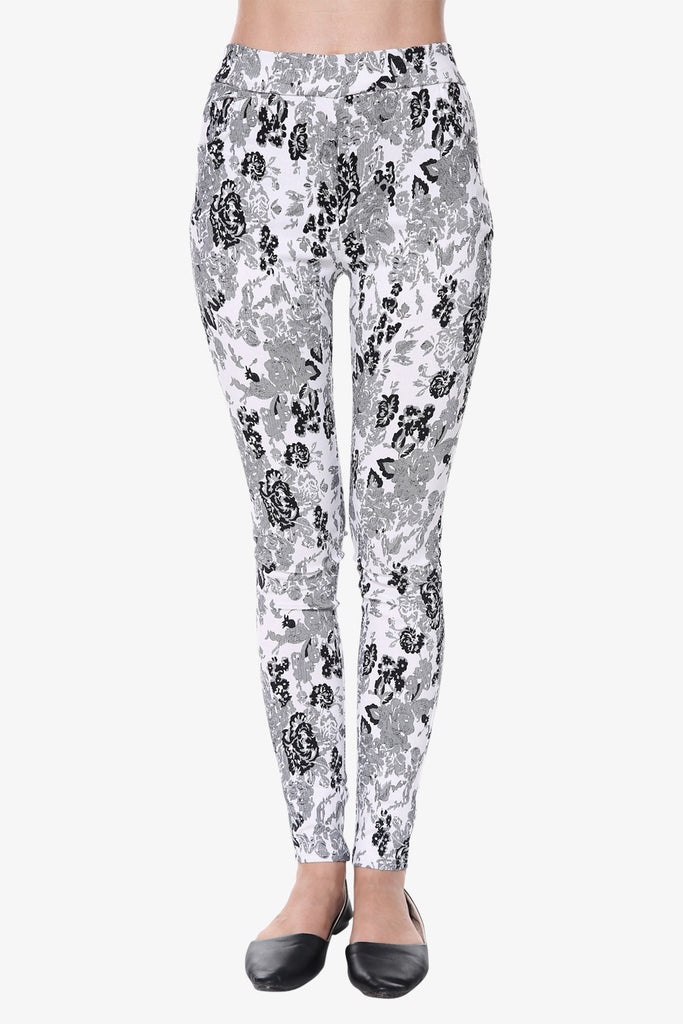 Vintage Printed Leggings