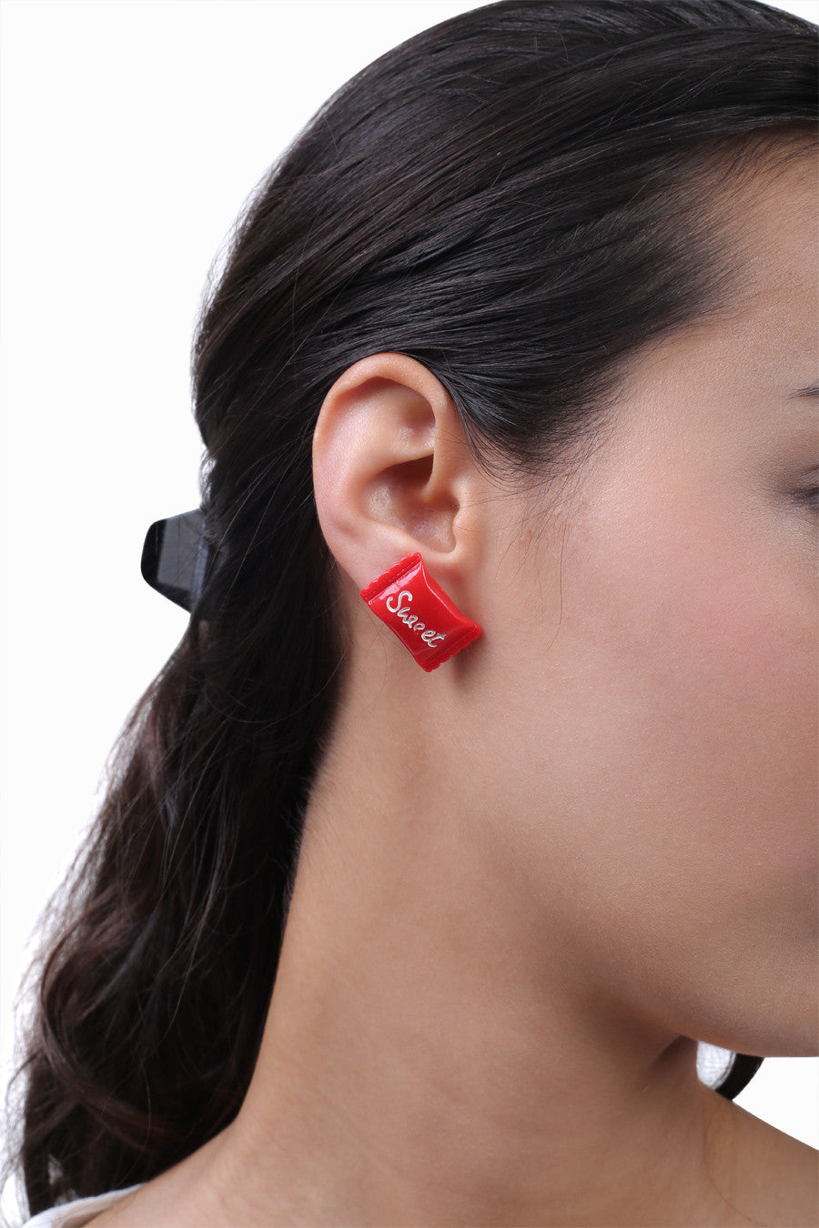 Cute Red Candy Earrings