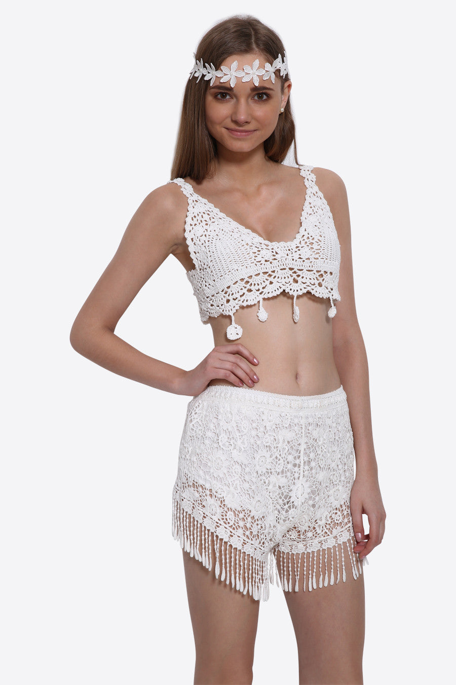 Retro Knitted Summer Bustier