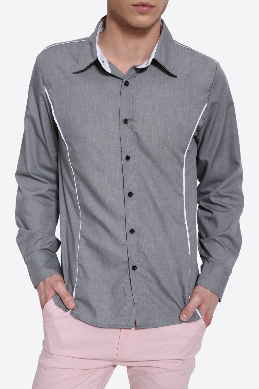 Elegant Long Sleeve Shirt