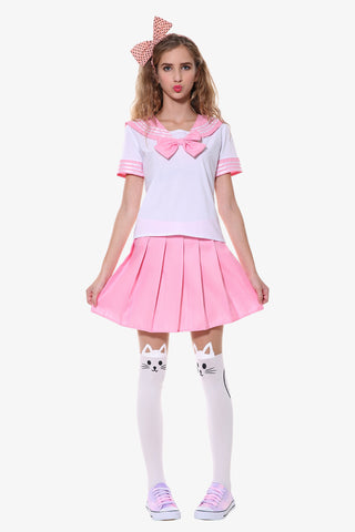 Pink Seifuku College Uniform