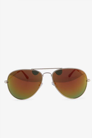 Brown Lens Aviator Sunglasses