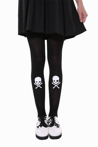 Lovely Skull Tights