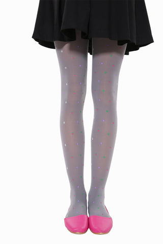 Candy Fruits Tights In Gray