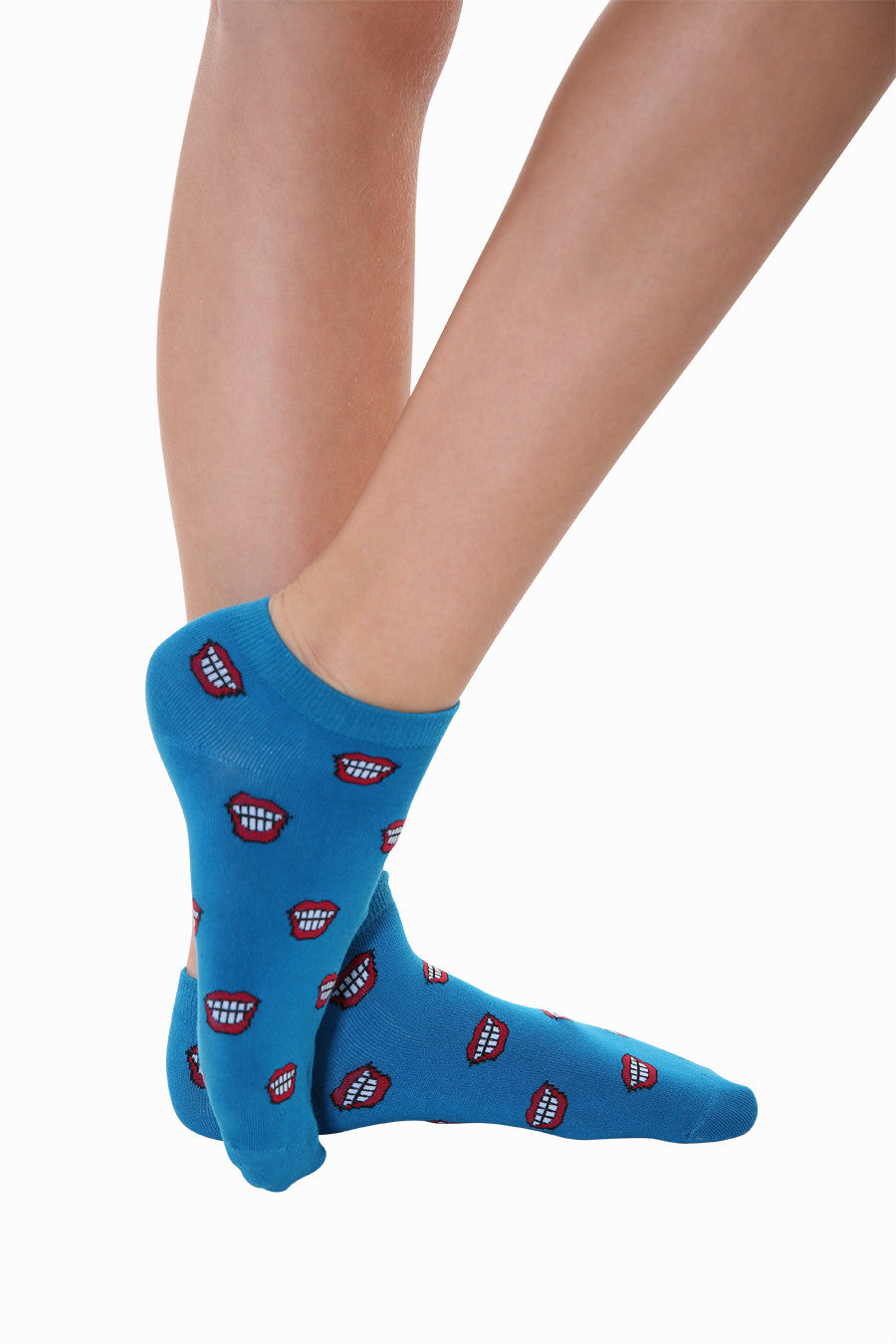Cute Laughing Mouth Socks