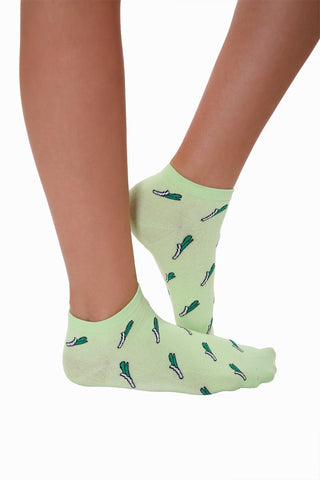 Crazy Lovely Scallions Socks