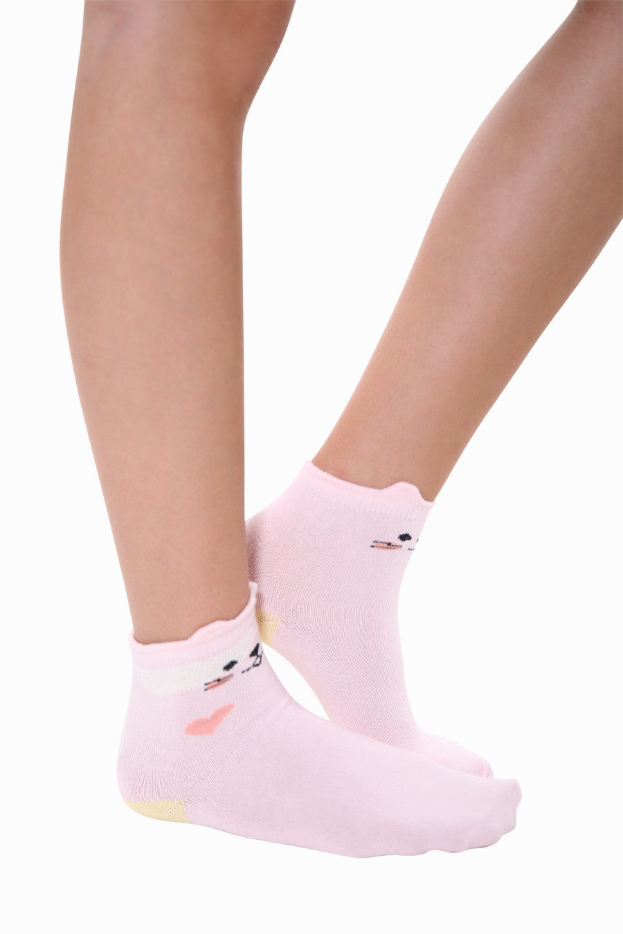 🎈Cat Socks In Light Pink🎈