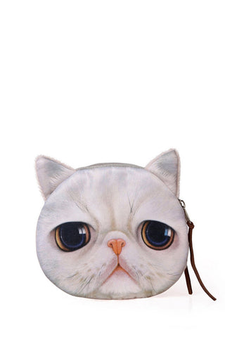 Sad Kitten Coin Purse