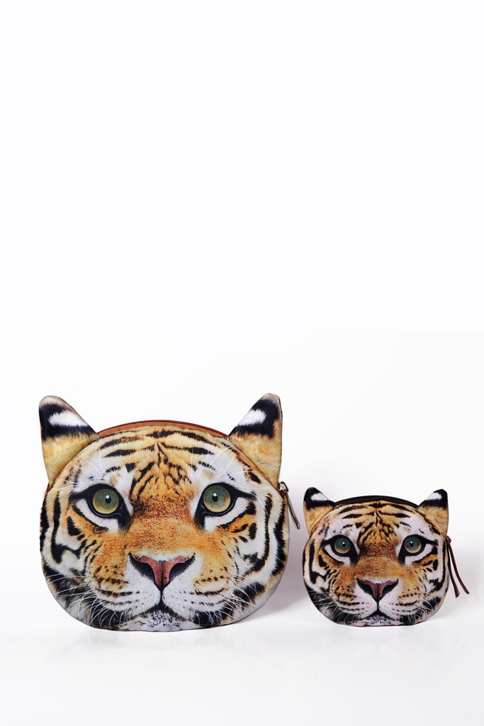 Stylish Tiger Zippered Coin Purse