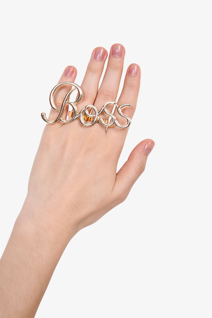 Fashionable Letters  Double Rings