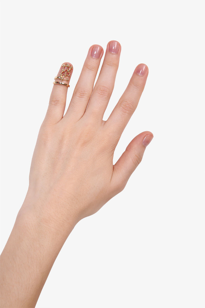 Cat Fingertip Ring