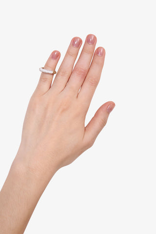 White Metal Rings