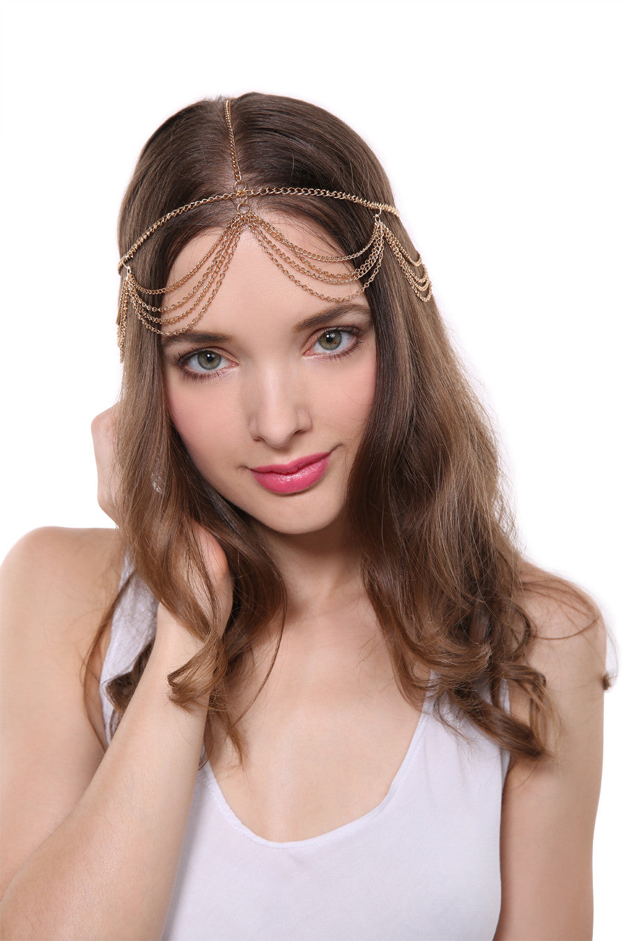 20's Layered Golden Hair Crown