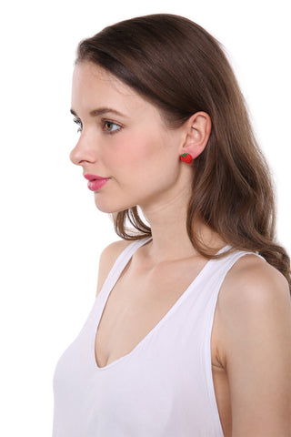 Cute Strawberry Earrings