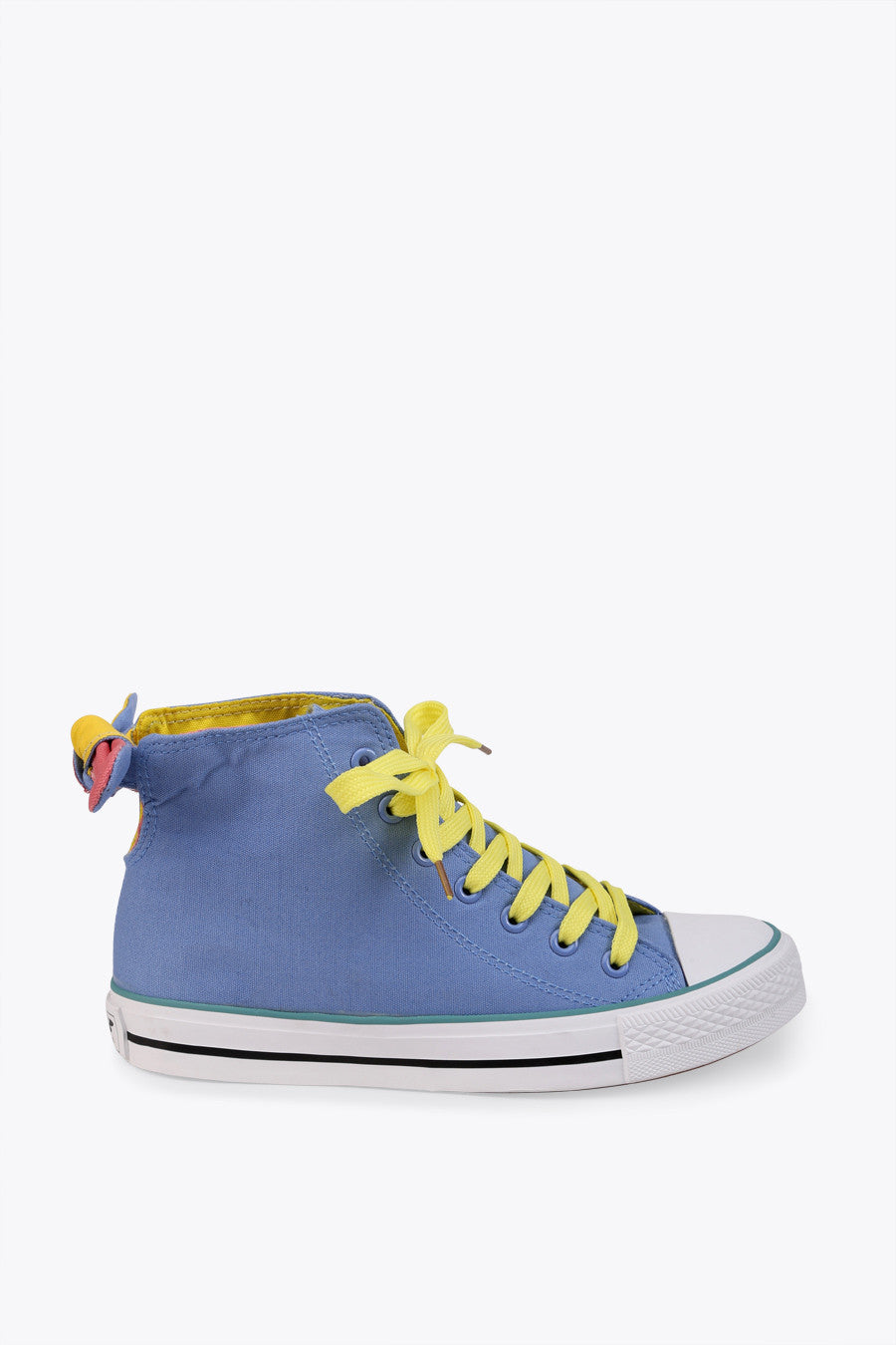 Sky Blue Bow Sneakers
