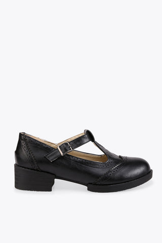 Retro Black College Shoes