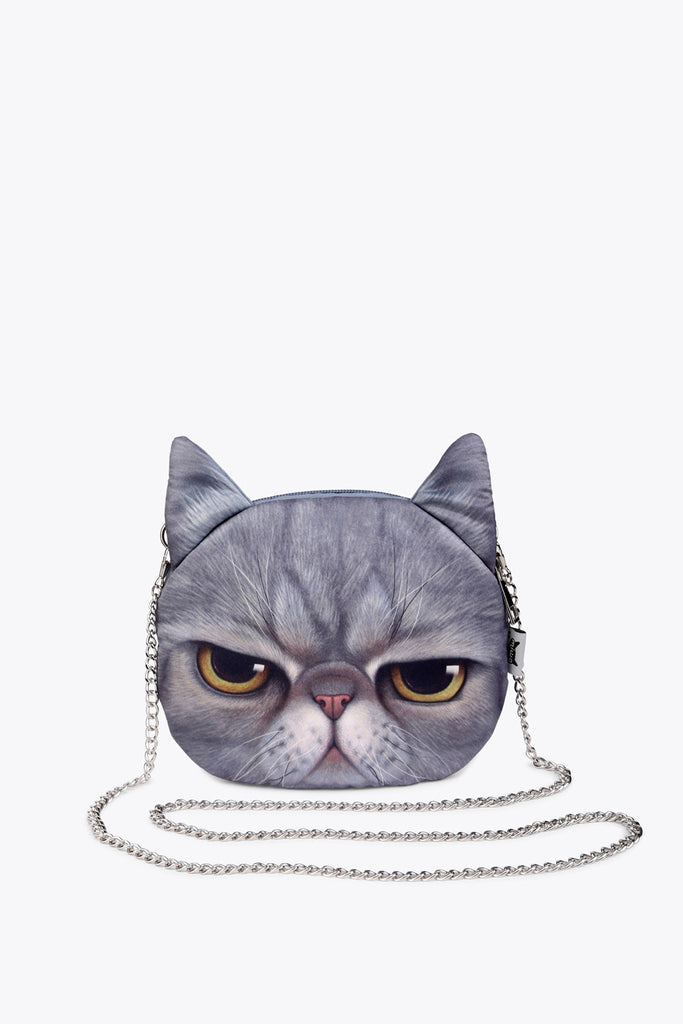 Kitten Novelty Chain Handbag