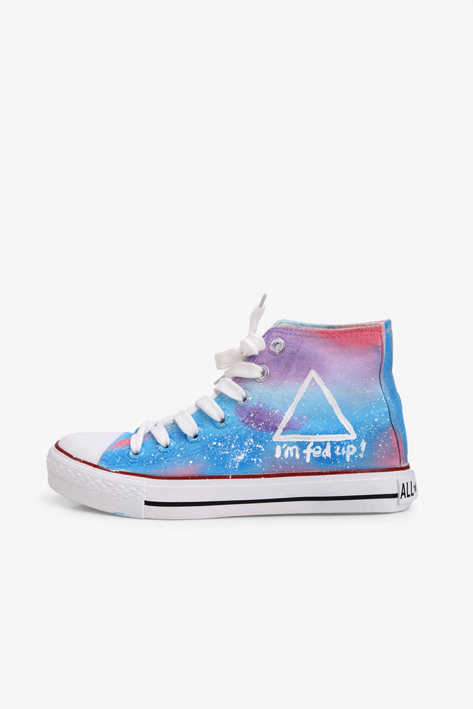 Galaxy High Top Sneakers
