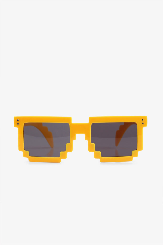 Stylish Yellow Jagged Sunglasses