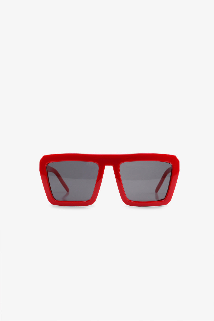 Fashion Oversized Sunglasses In Red