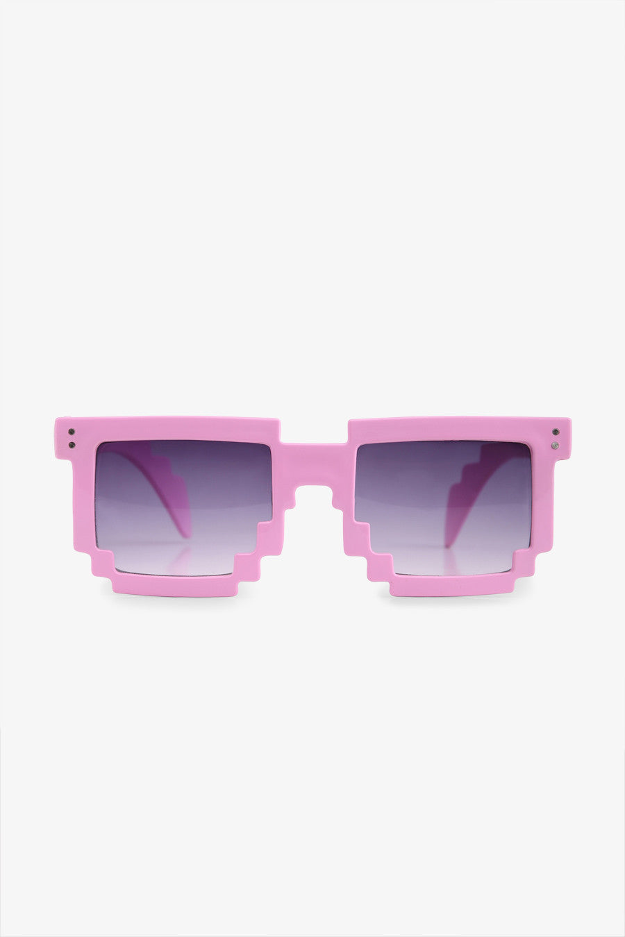 Stylish Jagged Sunglasses In Pink