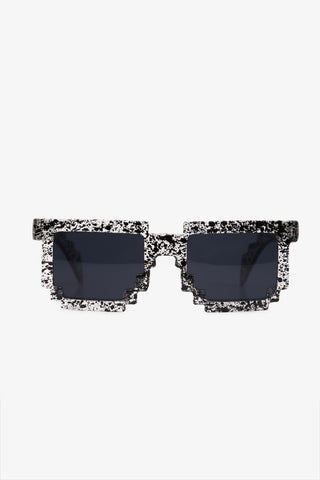 Stylish Jagged Sunglasses In Gray