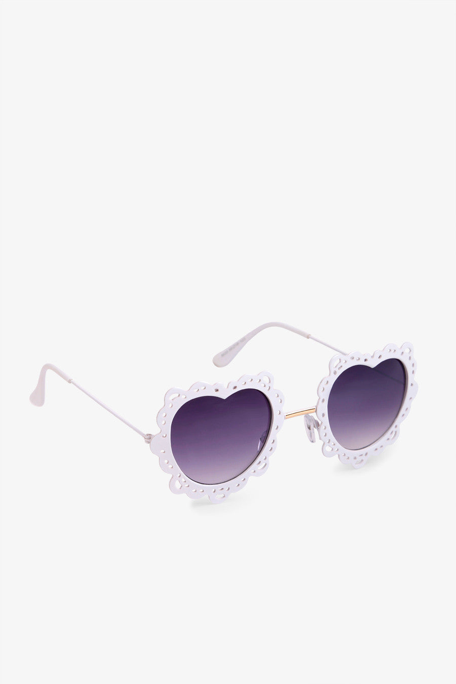 70s Heart Sunglasses Shaped White Shaped Heart 70s White Sunglasses 70s wOvmNP0y8n