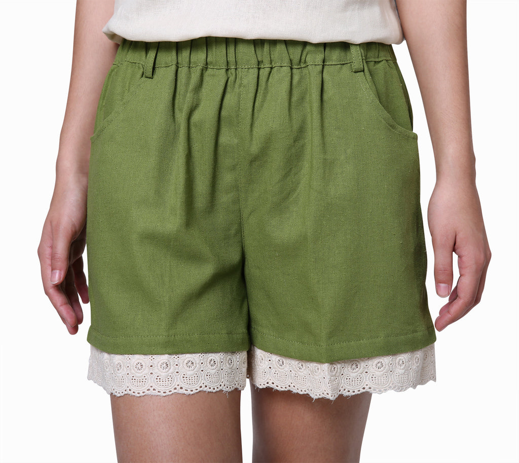 Cute Green Shorts