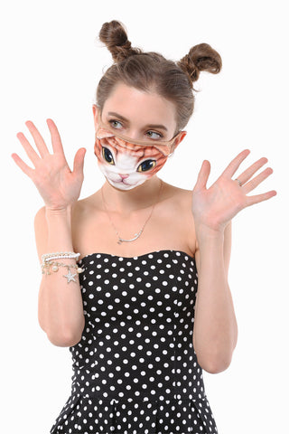 Baby Cat Mouth Face Mask