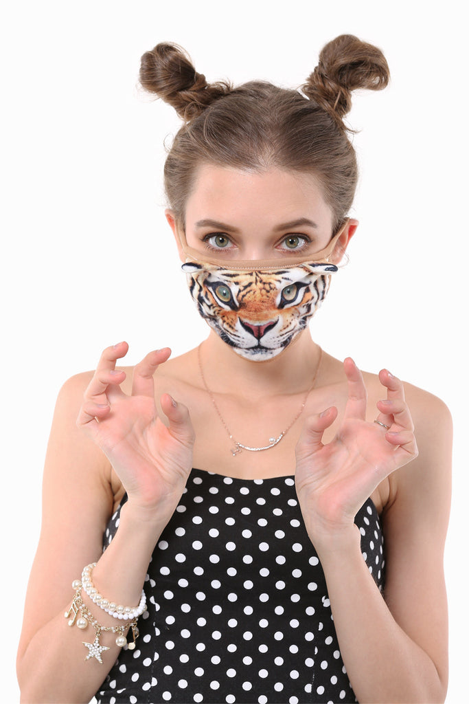 Adorable Tiger Mouth Face Mask