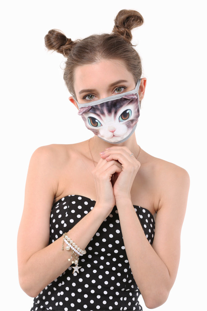 Cute Princess Cat Mouth Face Mask