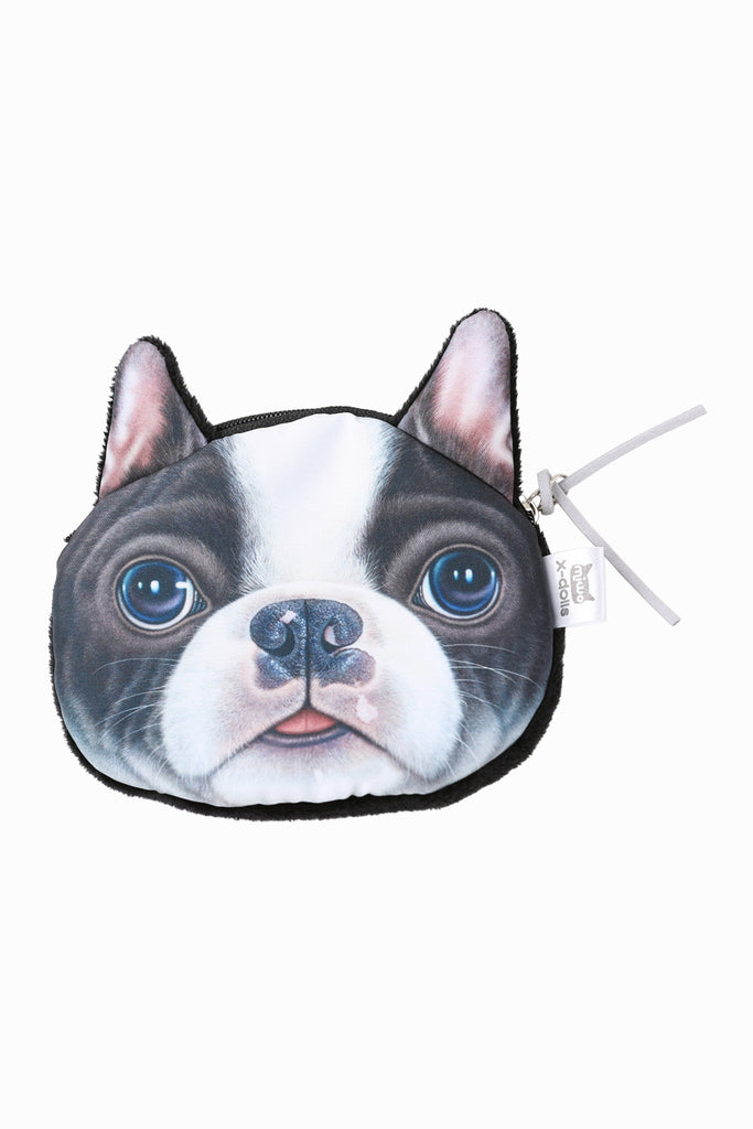 Endearing Bulldog Zippered Coin Purse