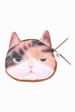 Sleep Kitten Coin Purse