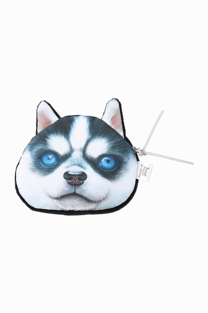 Husky Coin Purse