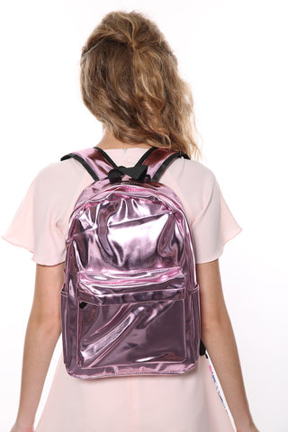 Waterproof Backpack In Pink