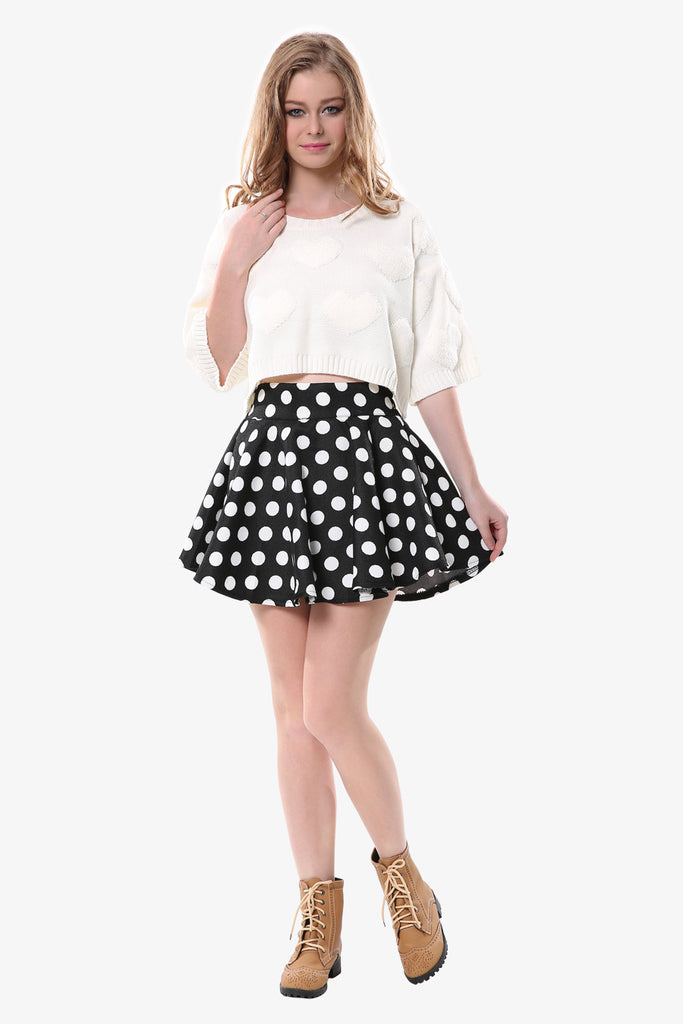 Retro Polka Dot Skirt