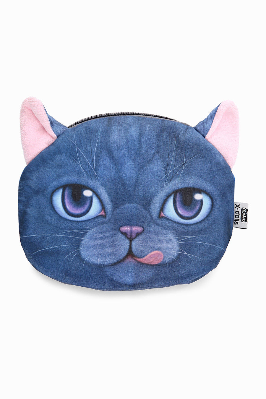 Naughty Blue Kitty Handbag