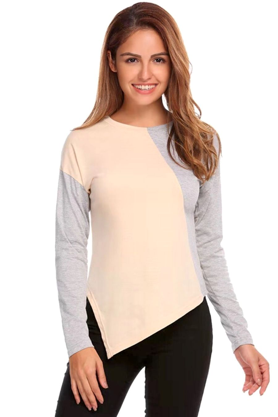 Casual Lounge Long Sleeves T-shirt Sweatshirt